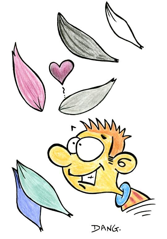 Maman Fete Des Meres Petales De Fleurs Illustration Coloriage