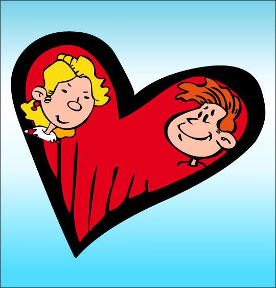 Dessin coeur dessin chanson la claire fontaine un coeur - Un coeur amoureux ...