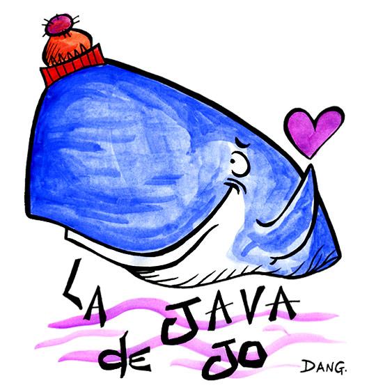 Dessin La Java du Cachalot, Jo en gros plan, catégorie Chanson pour enfants La Java du Cachalot