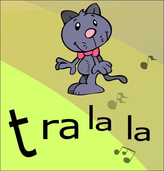 Dessin La mère Michel, le chat que l'on cherche partout, thème Chat