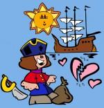 Illustration Chanson Brave Marin, le marin et son beau bateau