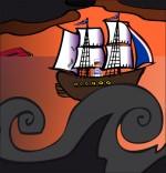 Dessin Chanson Brave Marin, le marin revient de guerre