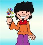 Illustration Chanson La Fleur de toutes les Couleurs, pour toi maman