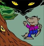 Chanson Le Loup Sympa, petit loup n'a pas peur