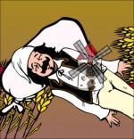 Illustration Chanson Meunier tu dors, le meunier rêve