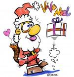 Dessin Chansons de Noël, le cadeau farceur