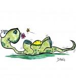 Dessin Dinosaure, le diplodocus de nos sorties pour enfants