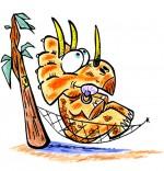 Illustration Dinosaure, le tricératops de nos bons plans pour enfants